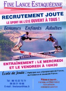 Recrutement Ecole de Joutes @ Port de l'Estaque